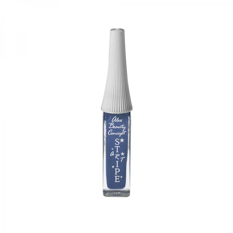 Stripe Art Лак для ногтей с тонкой кистью для дизайна (copper metallic) 8 мл.