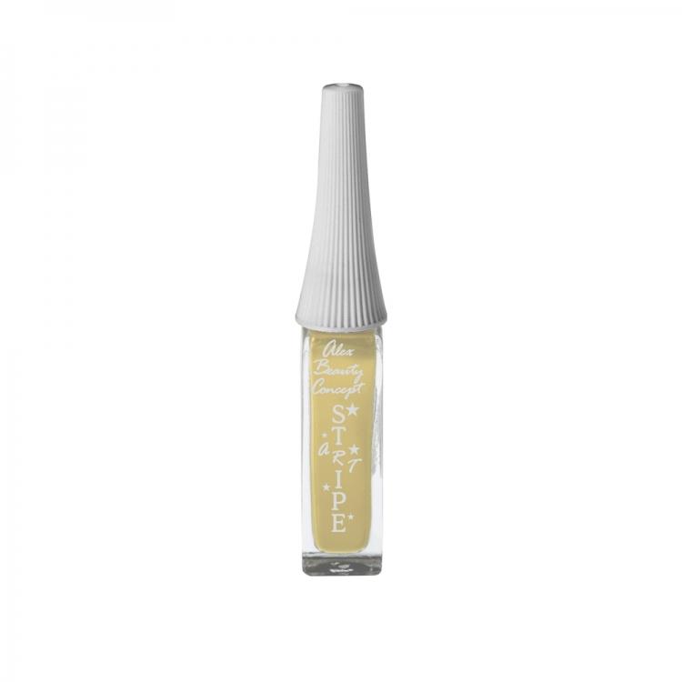 Stripe Art Лак для ногтей с тонкой кистью для дизайна (caramel) 8 мл.