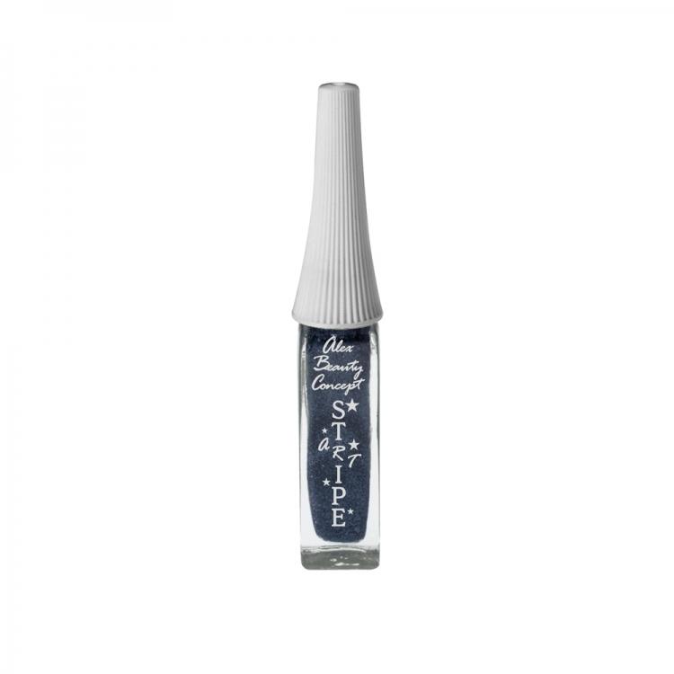 Stripe Art Лак для ногтей с тонкой кистью для дизайна (aquamarine) 8 мл.