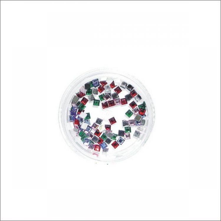 Стразы для ногтевого дизайна Фигурные (100 шт)
